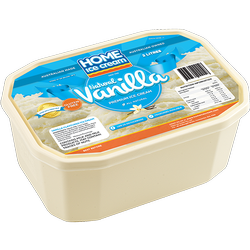 2L Natural Vanilla Tub
