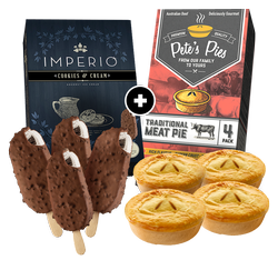 Footy Pack w IMPERIO Cookies & Cream